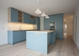 Lovely blue kitchen alt